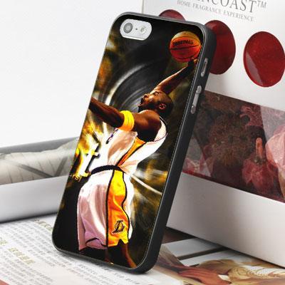 [機殼喵喵] Apple iPhone 6 6S i6 i6P i6S 手機殼 外殼 客製化 水印工藝 WZ002 湖人隊 KOBE
