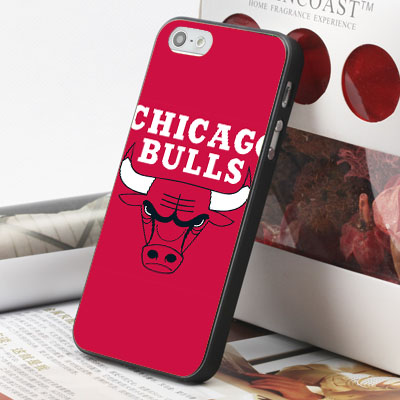 [機殼喵喵] Apple iPhone 6 6S i6 i6P i6S 手機殼 外殼 客製化 水印工藝 WZ026 NBA 公牛隊