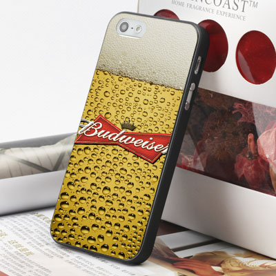 [機殼喵喵] Apple iPhone 6 6S i6 i6P i6S 手機殼 外殼 客製化 水印工藝 WZ088 啤酒氣泡