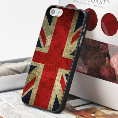 [機殼喵喵] Apple iPhone 6 6S i6 i6P i6S 手機殼 外殼 客製化 水印工藝 WZ122 英國國旗