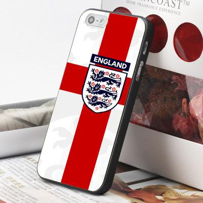 [機殼喵喵] Apple iPhone 6 6S i6 i6P i6S 手機殼 外殼 客製化 水印工藝 WZ244 世界盃 英國隊