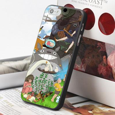 [機殼喵喵] Apple iPhone 5S 5G 5 i5 iP5 手機殼 外殼 客製化 水印工藝 WZ267 宮崎駿 龍貓