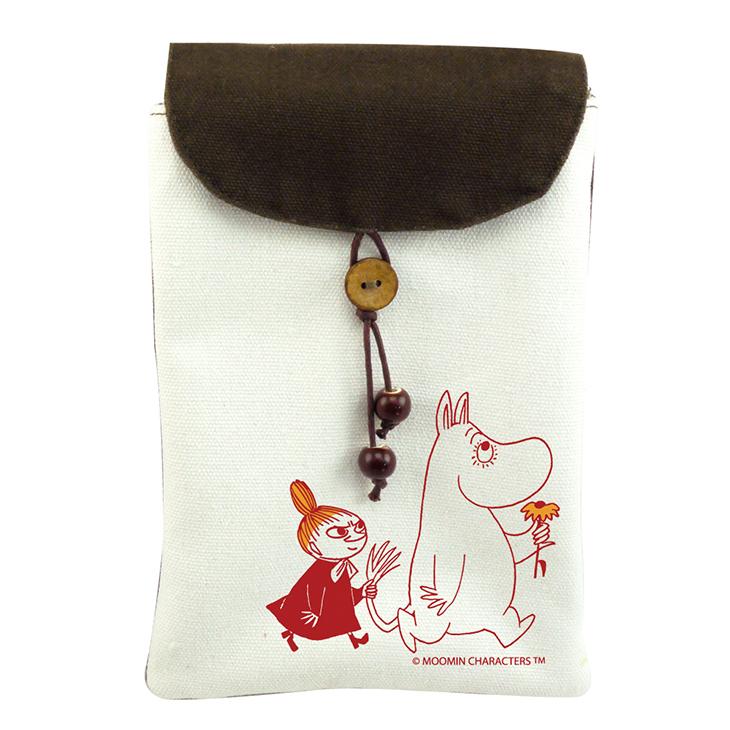 Moomin嚕嚕米正版授權 - 手機袋:【 跟屁蟲 】