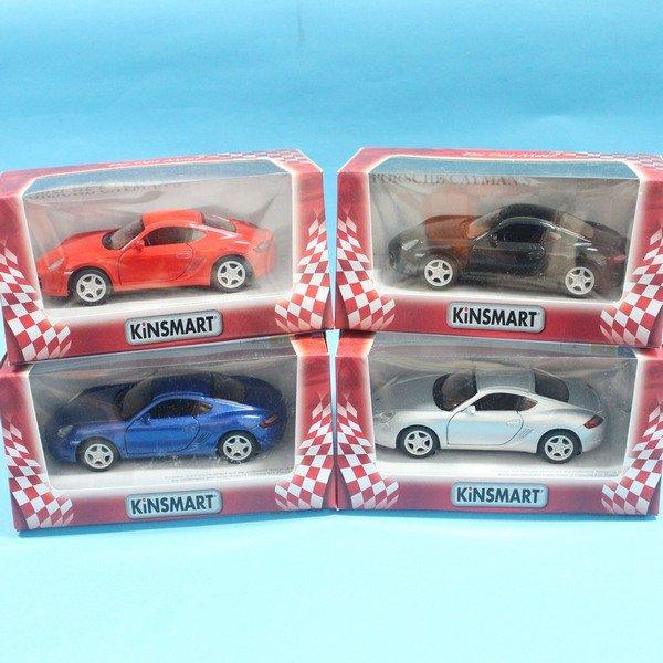保時捷 porsche cayman s 合金車 1:36 模型車 KT5307 迴力車 汽車模型(紅盒)/一台入{促199}