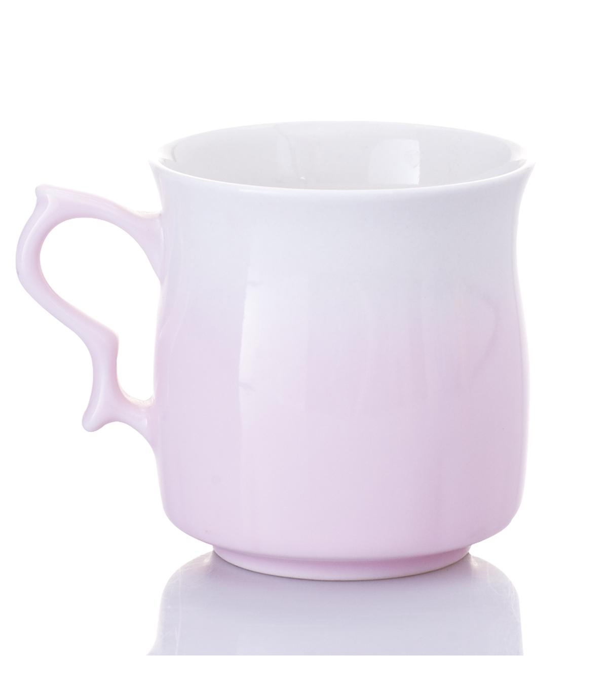 乾唐軒活瓷 ‧甜心杯 ( 白粉紅 )