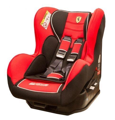 『121婦嬰用品館』 法拉利旗艦0~4歲安全汽座 - 紅色 FB00299
