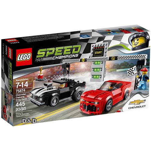 樂高積木 LEGO《 LT75874 》SPEED CHAMPIONS 系列 - Chevrolet Camaro Drag Race