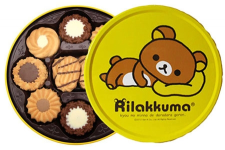 有樂町進口食品 有樂町進口食品 【超人氣限量禮盒】 北日本Rilakkuma利拉熊餅乾禮盒