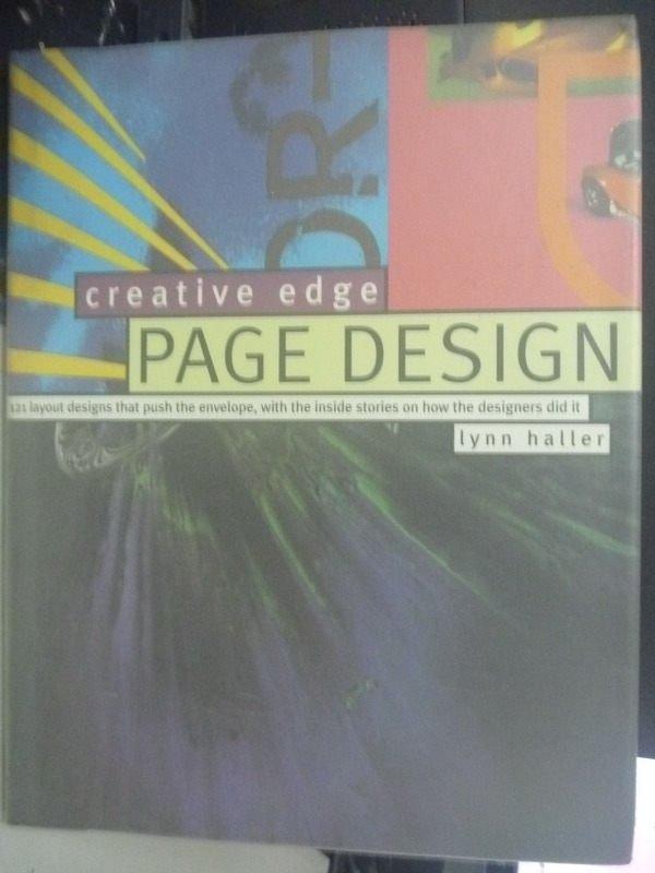 【書寶二手書T6/廣告_ZHB】Creative Edge Page Design