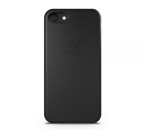 【adidas Originals】iPhone 7/i7(4.7吋)-黑色 slim case 純色矽膠超薄 雙材質保護殼/背蓋/手機套/保護套/手機殼