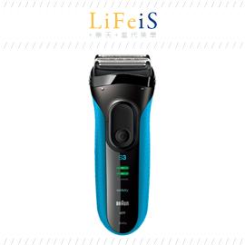 當代美學 日本原裝 百靈 BRAUN 【3040S】刮鬍刀 電鬍刀  防水設計 可水洗 海外