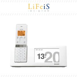 日本原裝 SHARP【JD-4C2CL】家用無線電話 單子機 藍牙連線 語音答錄 數位相框