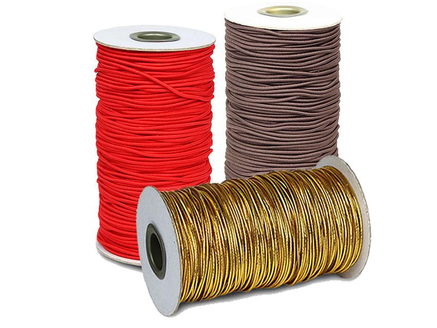 鬆緊繩、彈性線、彈性繩 E103 金色 (100碼/卷)