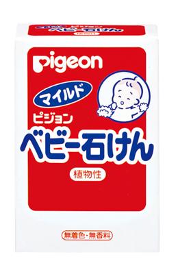 Pigeon貝親 - 嬰兒潤膚皂 90g
