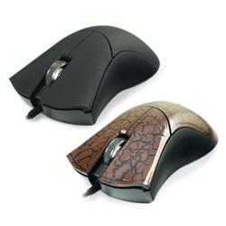【迪特軍3C】爾也富MM-RFM-213USB有線光學滑鼠(裂紋咖啡/黑)1000dpi高解析度 不需驅動程式