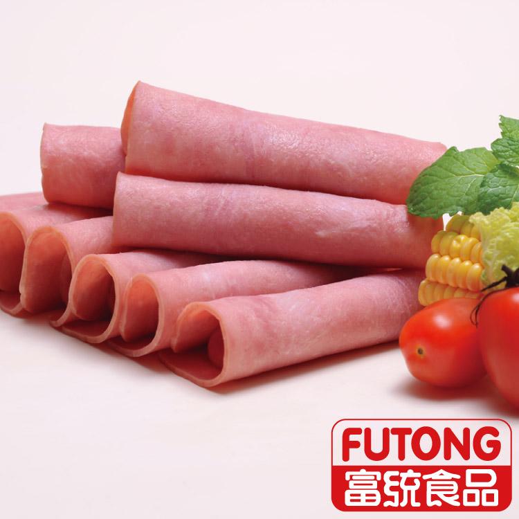 【富統食品】特級火腿片(500g/包;約18片;邊長約10cm)
