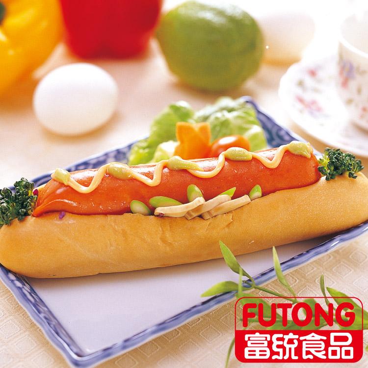 【富統食品】招牌大熱狗 (200g/包;2條入)