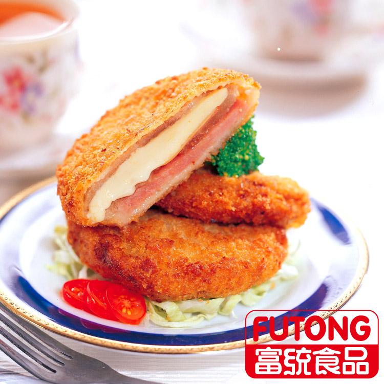 【富統食品】起司豬排 (80g/片;5片/包)