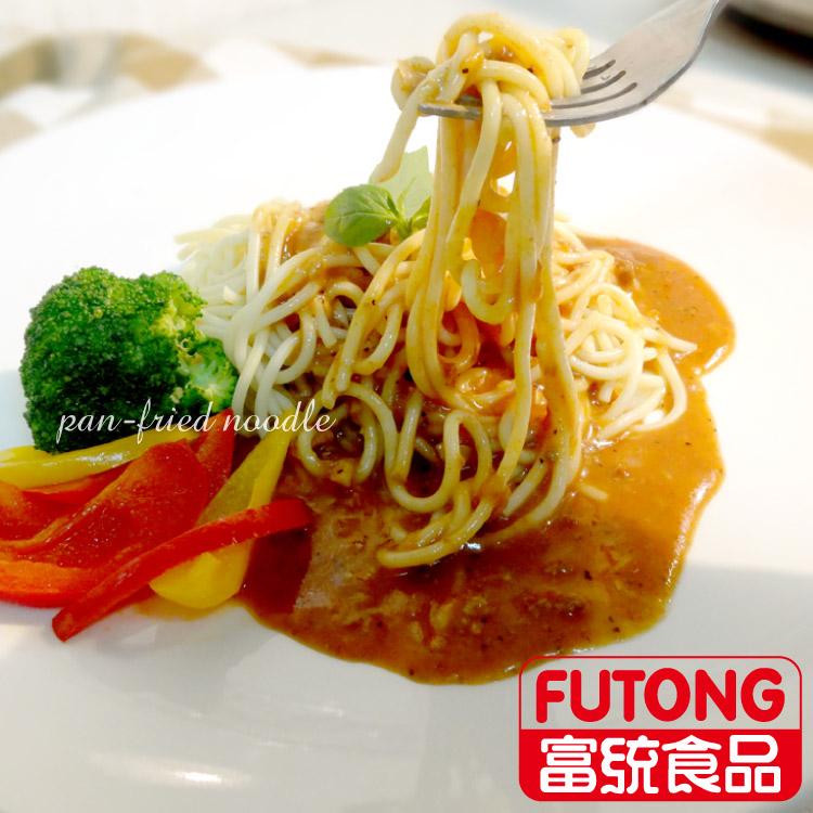 【富統食品】金品黑胡椒鐵板麵(300g/包)