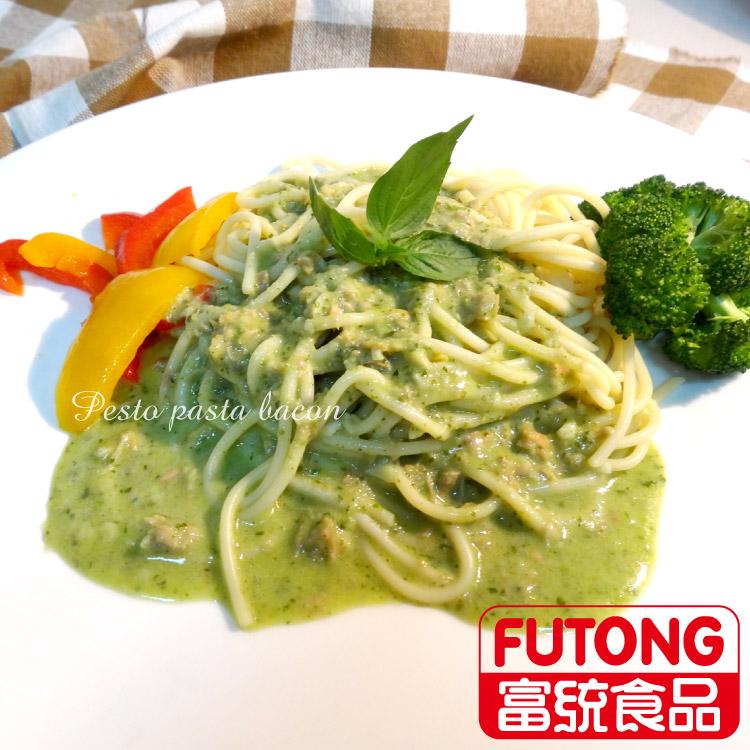 《缺貨中》【富統食品】金品亞德里奶青醬鮭魚義大利麵 (300g/包)