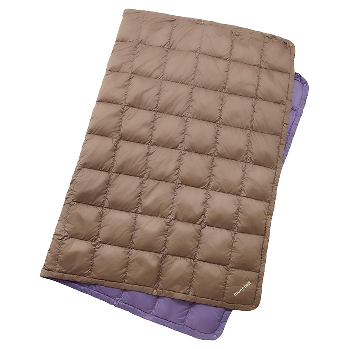 【鄉野情戶外專業】mont-bell |日本|多用途羽絨毯/蓋毯 羽絨毯子/-鐵灰 1124593
