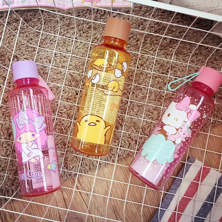 PGS7 日本蛋黃哥系列商品 - 三麗鷗 系列 隨身 水瓶 水壺 凱蒂貓 Hello Kitty 蛋黃哥 雙子星 kikilala