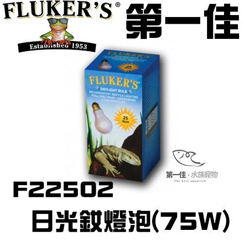 [第一佳 水族寵物] 美國FLUKER`S日光釹燈泡F22502 75W爬蟲類給寵物溫暖的冬天 免運