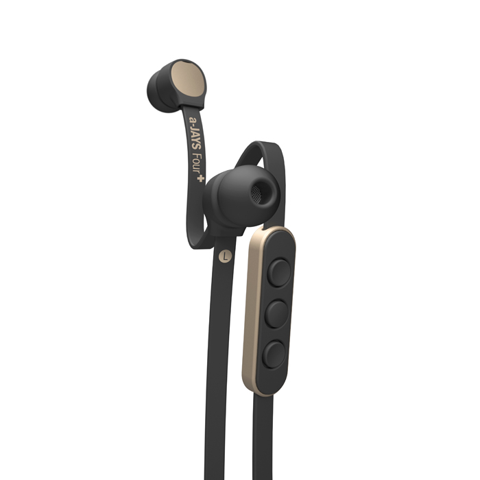 瑞典 JAYS AJ4+ iOS專用高端耳機/APPLE專用//扁線設計/高性能麥克風/噪聲隔離【馬尼行動通訊】