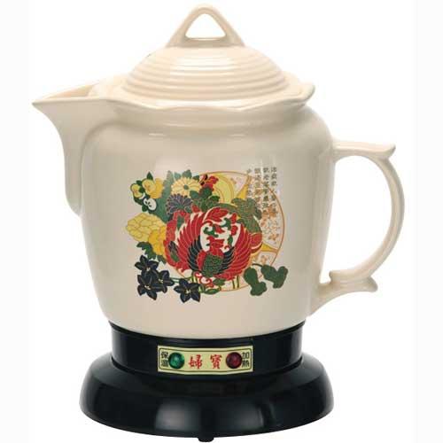 【婦寶】 白瓷分離式煎藥壺 LF-668AW