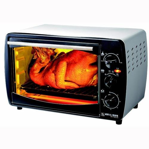 【鍋寶】18L多功能電烤箱 OV-1802-D
