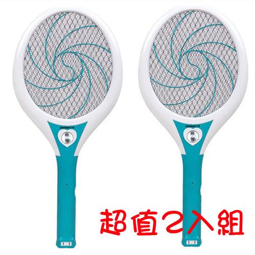 【日象】大器旋風充電式電蚊拍 ZOM-3800(2入組)