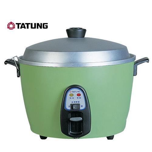 【大同】 11人份不銹鋼電鍋 TAC-11T-DG (綠)