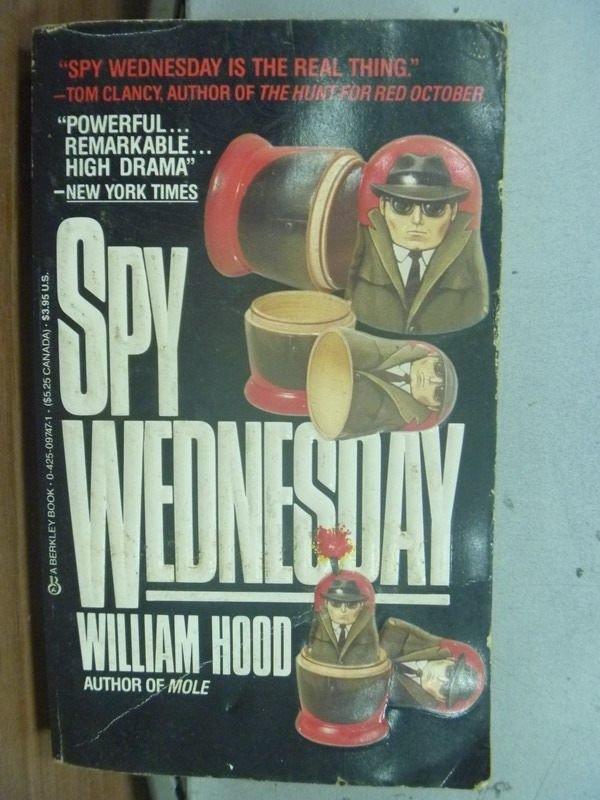【書寶二手書T2/原文小說_HPQ】Spy Wednesday_Hood William