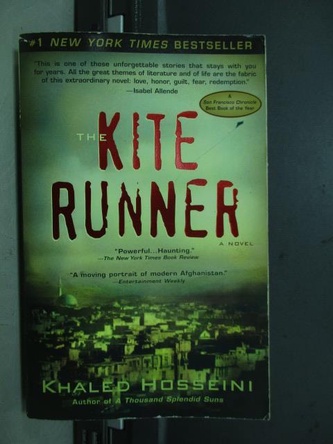 【書寶二手書T1/原文小說_NDX】The kite runner_2005