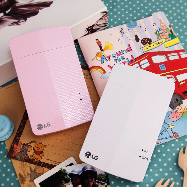 PGS7 - LG POCKET PHOTO - PD251 口袋相印機 隨身 列印機 白色 / 粉色 公司貨 適用 iOS / Android / Windows Phone