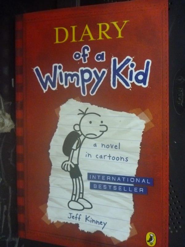【書寶二手書T7/原文小說_HBA】Diary of a Wimpy Kid_Jeff Kinney