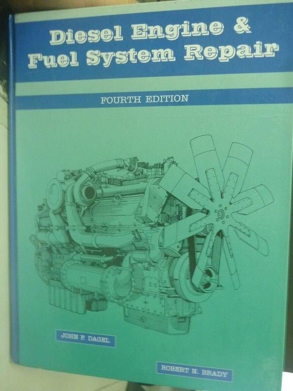 【書寶二手書T5/大學理工醫_ZBE】Diesel Engine and Fuel4/e