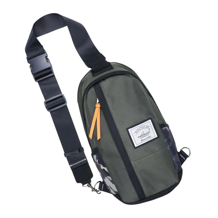 REMATCH - Matchwood Hunter 單肩後背包 橄欖綠迷彩款 斜背包 側背包 隨身包 胸前包 基本防水 / 運動 / 輕便 / 美式休閒 / 單車Fixed gear / Dickies / Porter / master-piece 可參考