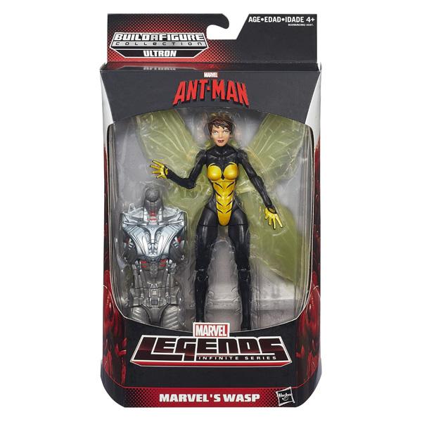 【孩之寶流行玩具】MARVEL LEGENDS 蟻人-6吋人物組 黃蜂女