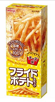 ★日本明治 meiji 細切起司馬鈴薯條★【脆思比】