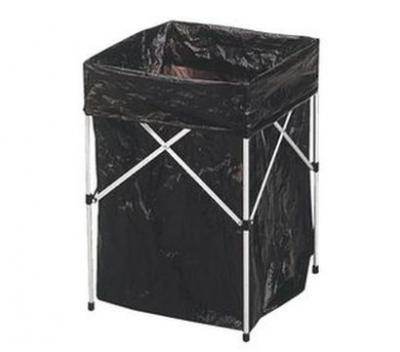 GO SPORT 45270  鋁製垃圾架 附5pcs垃圾袋  垃圾桶 車庫 居家 露營 好收納