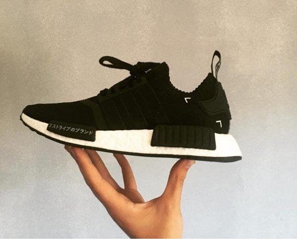 【蟹老闆】ADIDAS NMD R1 PK 日文 PRIMEKNIT 黑 休閒運動鞋 男鞋 少量現貨