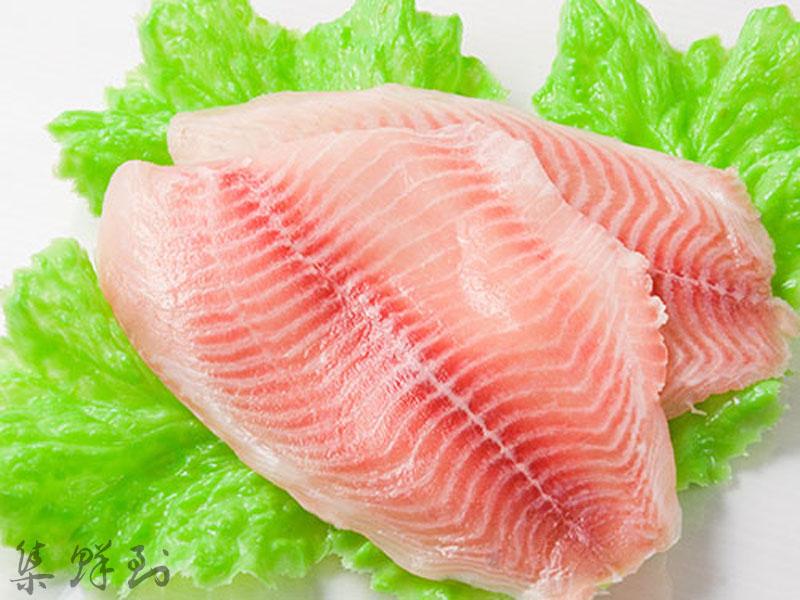 真空包裝台灣出口等級鯛魚片 200g±10% / 片