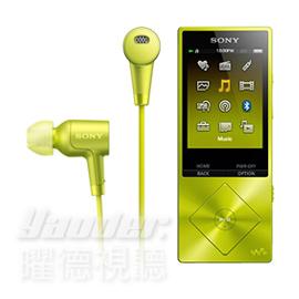【曜德】SONY NW-A26HN 黃色 數位隨身聽 32GB NFC藍芽播放 ★免運★