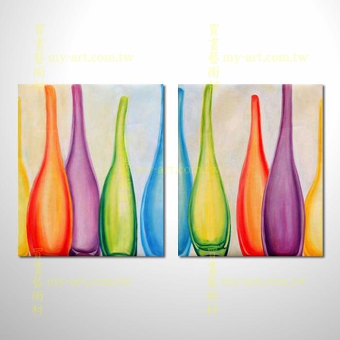 2拼靜物A68,藝術拼套畫,純手工油畫,客製臨摹抽象,居家佈置,門市,飯店,餐廳,民宿,辦公室,室內設計首選