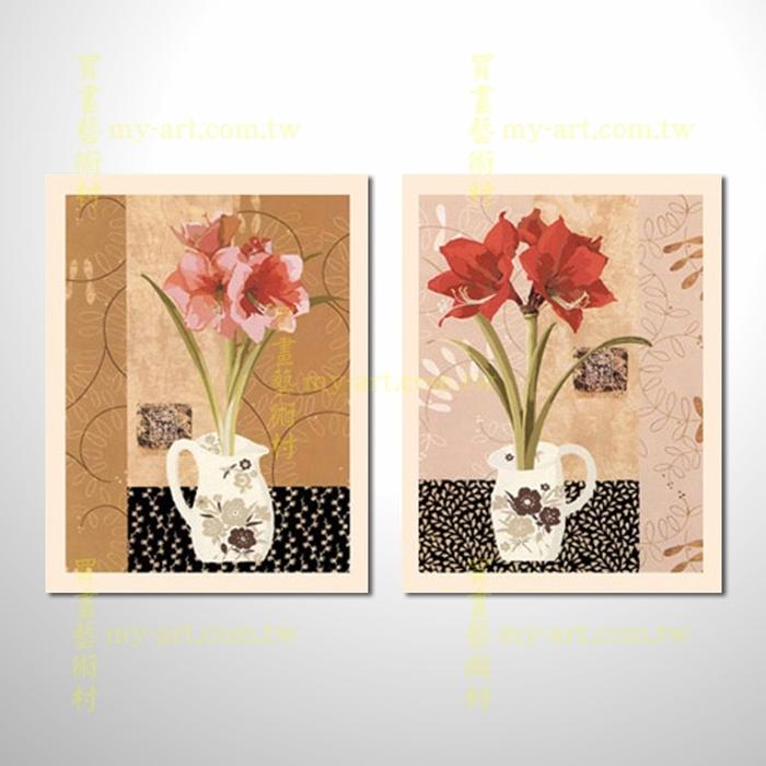 2拼花卉A36,藝術拼套畫,純手工油畫,客製臨摹抽象,居家佈置,門市,飯店,餐廳,民宿,辦公室,室內設計首選
