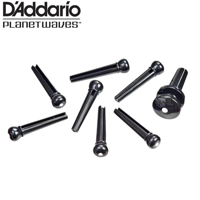 【非凡樂器】D addario 木吉他止弦釘 經濟型(黑)【7入止弦釘,背帶釘1入】