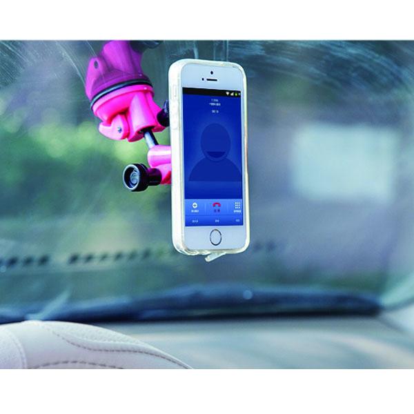 BO雜貨【SV6316】手機平板支架 懶人支架 無痕吸盤 可旋轉 汽車導航架