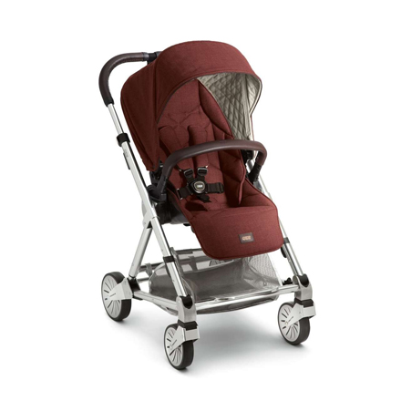 *babygo*英國 mamas & papas Urbo2 雙向旗艦手推車/推車/嬰兒推車 - 鐵銹紅