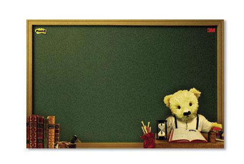 3M 558M-B 利貼佈告欄-泰迪熊系列